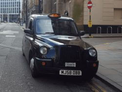 London style taxi
