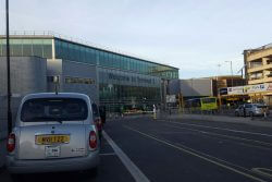 Taxi at Manchester Airport